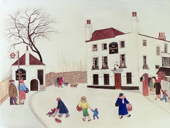 The Spaniard's Inn, Hampstead Heath-Gillian Lawson-Giclee Print