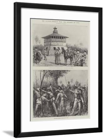 The Spanish-American War, the Invasion of Cuba--Framed Giclee Print