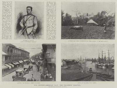 The Spanish-American War, the Philippine Question--Giclee Print