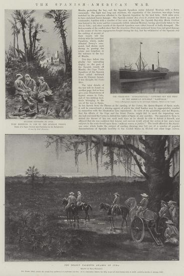 The Spanish-American War-Paul Frenzeny-Giclee Print