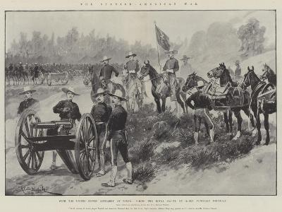 The Spanish-American War-Richard Caton Woodville II-Giclee Print