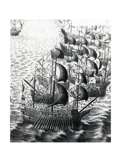 The Spanish Armada, 19th Century--Giclee Print