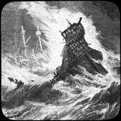 The Spanish Armada in a Tempest, 1588--Giclee Print