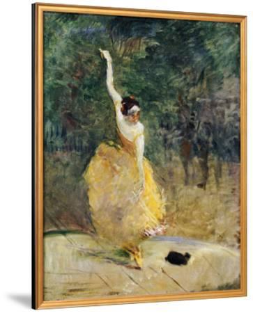 The Spanish Dancer, 1888-Henri de Toulouse-Lautrec-Framed Giclee Print