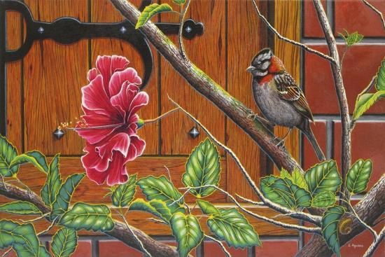 The Sparrow Who Visit Your Window-Luis Aguirre-Giclee Print