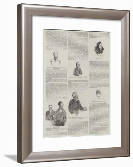 The Special Commission-Sydney Prior Hall-Framed Giclee Print