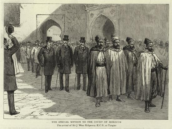 The Special Mission to the Court of Morocco--Giclee Print