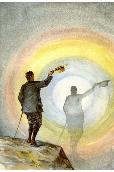 The Spectre and Circular Rainbow, 1898-FA Brockhaus-Giclee Print