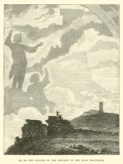 The Spectre of the Brocken in the Harz Mountains--Giclee Print