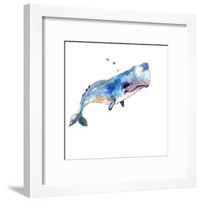 The Sperm Whale-Suren Nersisyan-Framed Art Print