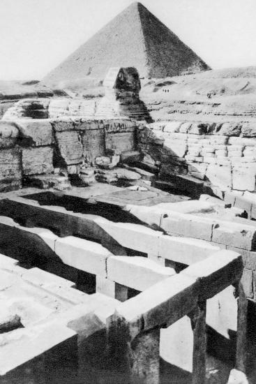 The Sphinx Temple, Cairo, Egypt, C1920S--Giclee Print
