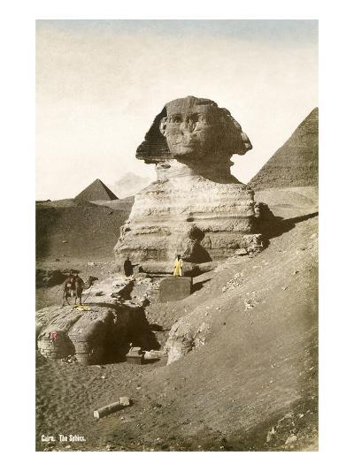 The Sphinx--Art Print