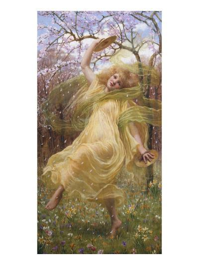 The Spirit of Spring-W^ Savage Cooper-Giclee Print