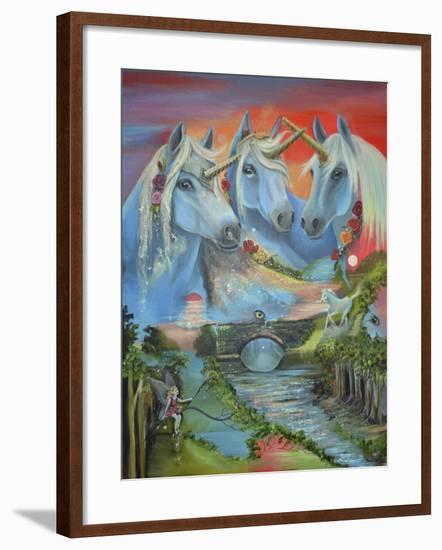 The Spirit of the Unicorn-Sue Clyne-Framed Giclee Print