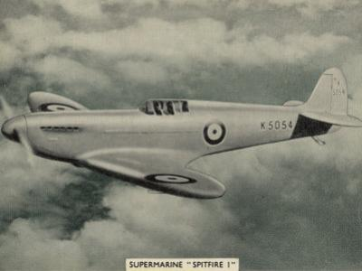 "The ""Spitfire"" as It Appears at the Outbreak of World War Two a Magnificent Machine"