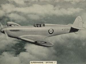 """The """"Spitfire"""" as It Appears at the Outbreak of World War Two a Magnificent Machine"""