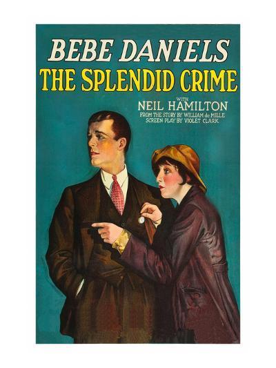 The Splendid Crime--Art Print