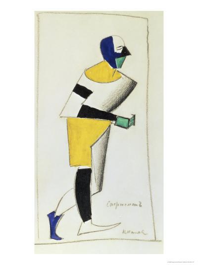 The Sportsman-Kasimir Malevich-Giclee Print