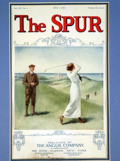 The Spur magazine cover, July 1914-Unknown-Giclee Print
