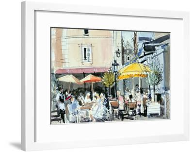 The Square at St. Malo-Felicity House-Framed Giclee Print