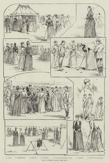 The St Andrews Ladies' Golf Club--Giclee Print