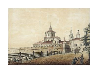 The St. Andronik Monastery in Moscow, 1780S-Francesco Camporesi-Giclee Print