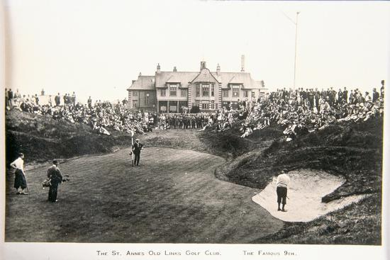 The St Annes Old Links golf club. The famous ninth-Unknown-Giclee Print