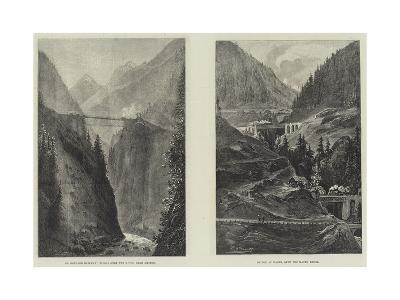 The St Gothard Railway Tunnel--Giclee Print