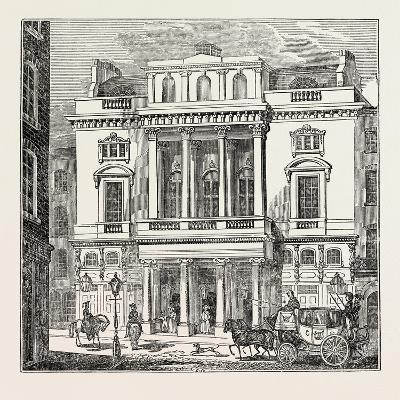 The St. James's Theatre, West End; London; Uk--Giclee Print