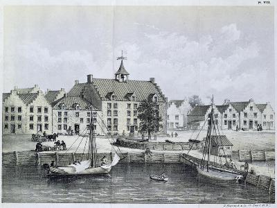 The Stadthuys of New York in 1679--Giclee Print
