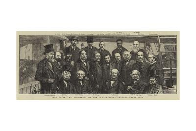 The Staff and Promoters of the Challenger Deep-Sea Expedition--Giclee Print
