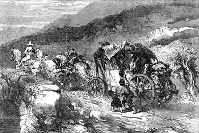The Stage-Coach of the Last Century, 1855-John Gilbert-Giclee Print