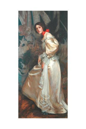 The Stairs, C.1899-James Jebusa Shannon-Giclee Print