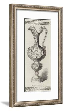 The Stamford Race Gold Cup--Framed Giclee Print