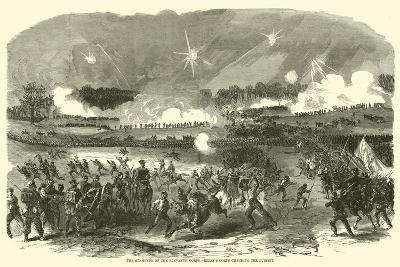The Stampede of the Eleventh Corps, Berry's Corps Checking the Pursuit, May 1863--Giclee Print