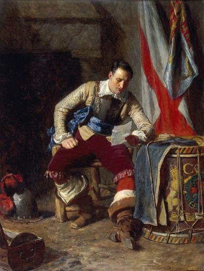 The Standard Bearer, 1903-John Seymour Lucas-Giclee Print