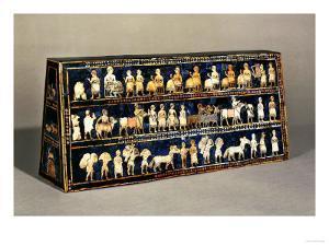 The Standard of Ur, Southern Iraq, 2600-2400 BCE