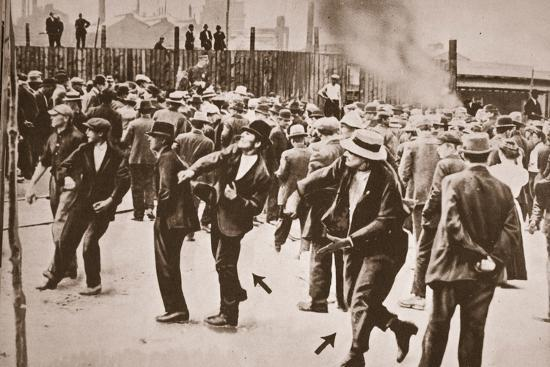 The Standard Oil Strike, Bayonne, New Jersey, 1915--Photographic Print