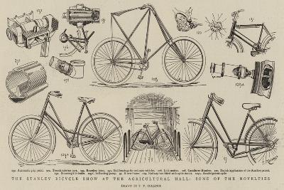 The Stanley Bicycle Show at the Agricultural Hall, Some of the Novelties--Giclee Print