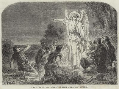 The Star in the East, the First Christmas Morning-James Godwin-Giclee Print