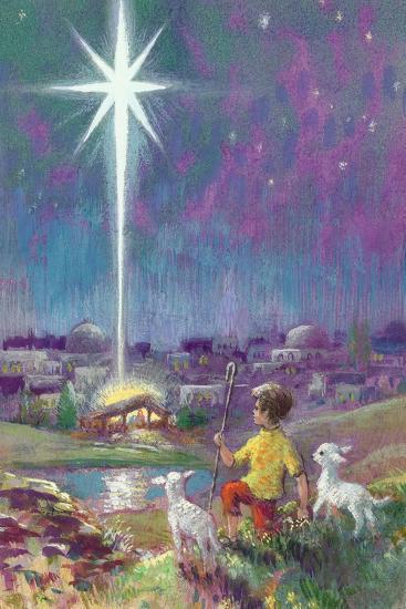The Star of Bethlehem-Stanley Cooke-Giclee Print