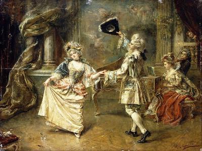 The Start of the Dance-Eduardo-leon Garrido-Giclee Print