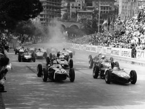 The Start of the Monaco Grand Prix, Monte Carlo, 1961