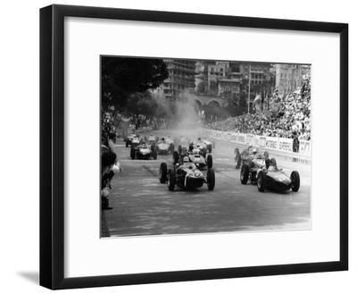 The Start of the Monaco Grand Prix, Monte Carlo, 1961