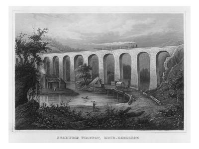 The Starucca Viaduct on the Erie Railroad--Giclee Print
