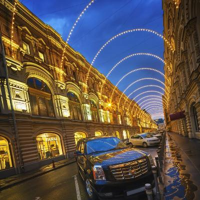 The State Department Store, Gum, at Dusk-Jon Hicks-Photographic Print