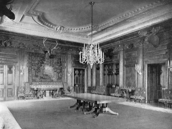 The State Dining-Room at the White House, Washington Dc, USA, 1908--Giclee Print