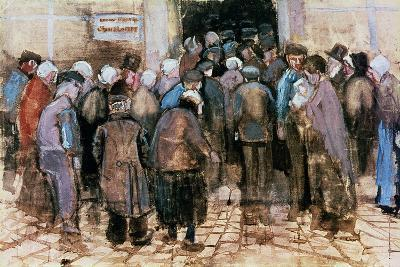 The State Lottery, 1882-Vincent van Gogh-Giclee Print