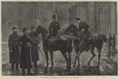The State of Ireland, Police Patrol in Dublin--Giclee Print