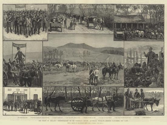 The State of Ireland-Aloysius O'Kelly-Giclee Print